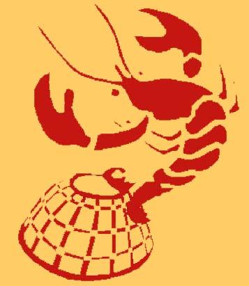Lobster Logo at The Lobster Pot Restaurant Dublin Ireland
