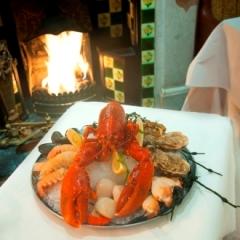 Lobster Dish at The Lobster Pot Restaurant Dublin Ireland